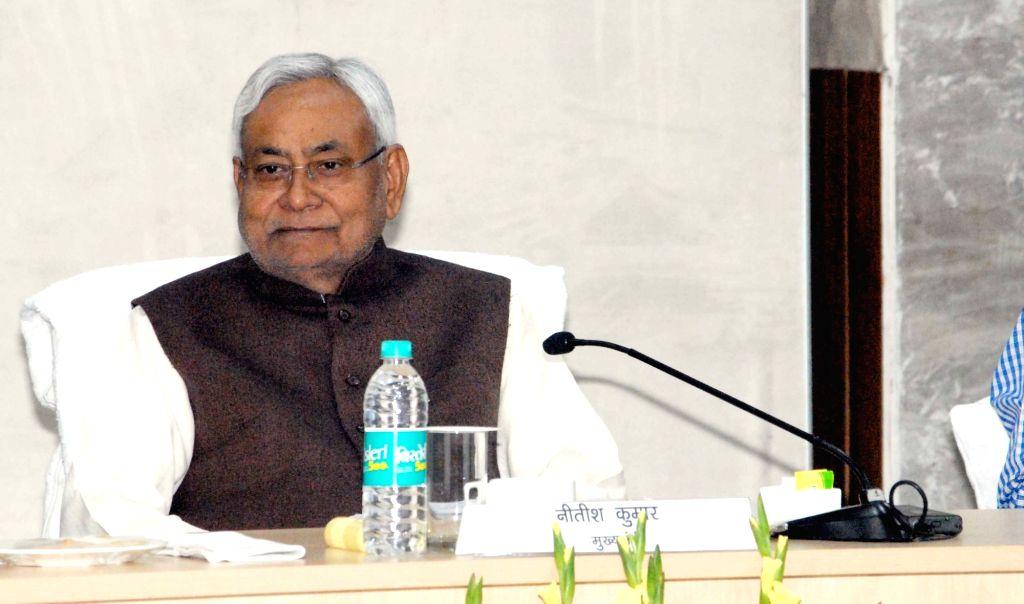 Bihar Chief Minister Nitish Kumar during a programme in Patna on Dec 13, 2018. - Nitish Kumar