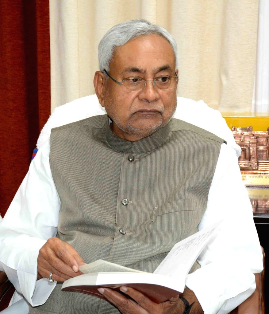 Bihar Chief Minister Nitish Kumar during a book launch in Patna on March 23, 2018. - Nitish Kumar