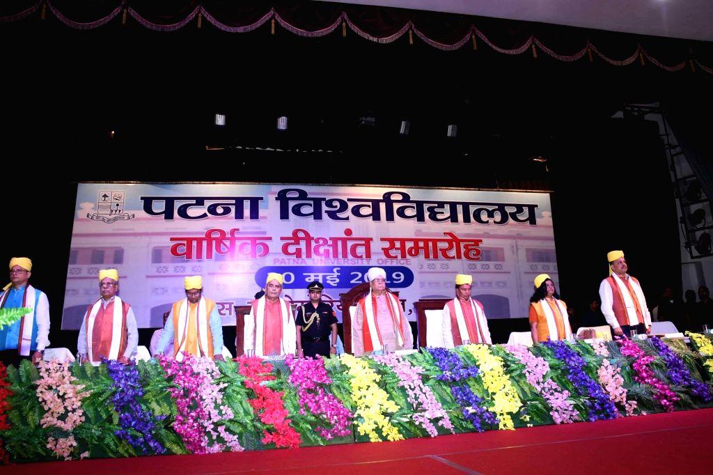 Bihar Governor Lalji Tandon at the convocation of Patna University, on May 30, 2019.