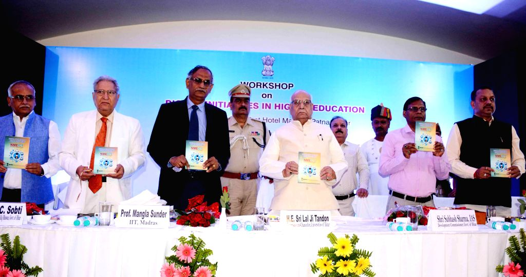 Bihar Governor Lalji Tandon at the inaugural session of a workshop on 'Digital Initiatives in Higher Education' in Patna, on April 11, 2019.