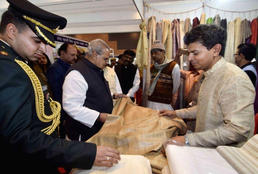 Bihar Governor Satya Pal Malik during Rashtriya Khadi Mahotsav in Patna on Feb 12, 2018. - Malik