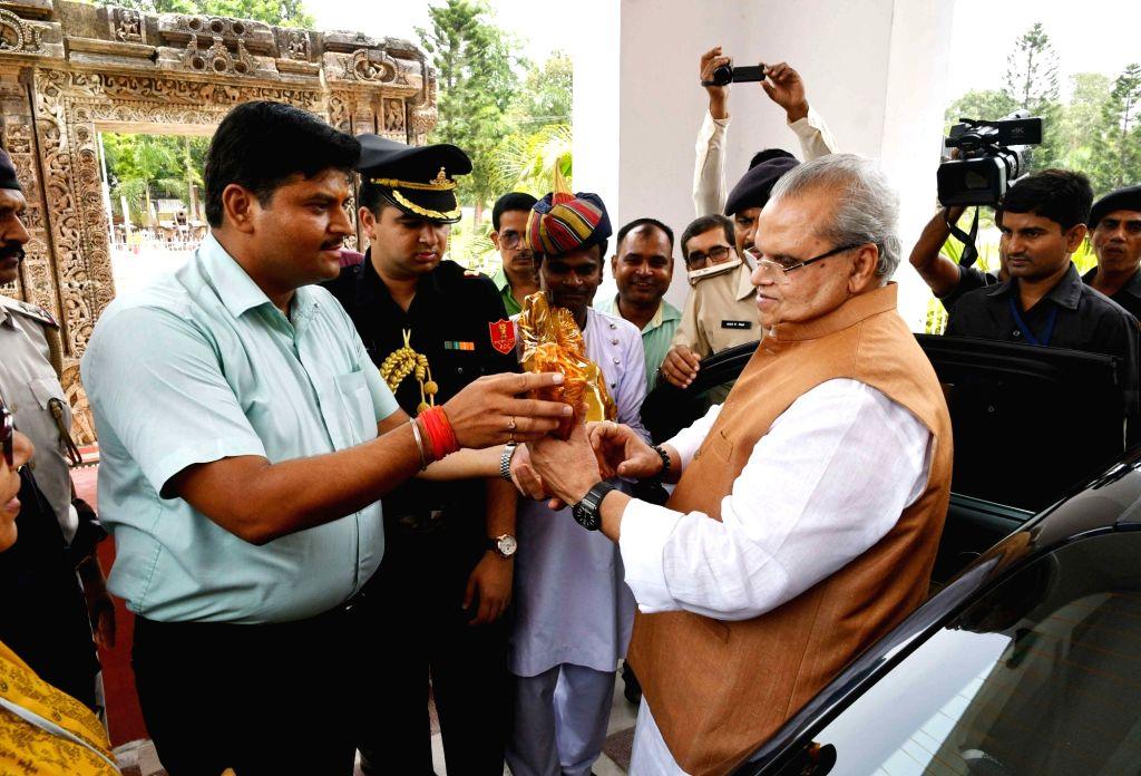 Bihar Governor Satyapal Malik during his visit to Patna Museum on June 13, 2018. - Malik