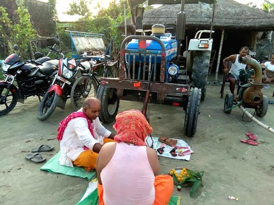 Bihar man arrested for 'worshipping' weapons on Vishwakarma Puja