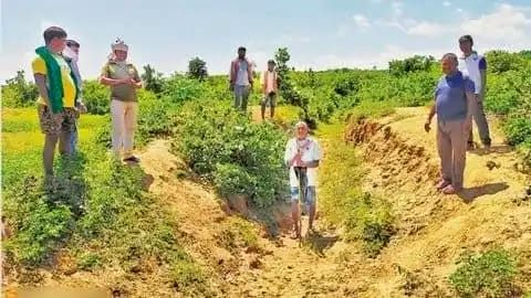 Bihar man digs 5-km canal to bring water to his village.