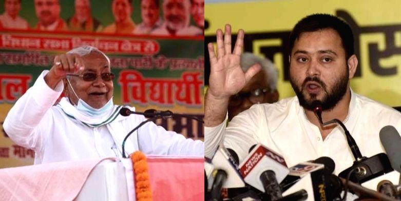 Bihar polls: Tejashwi challenges Nitish for debate on development.