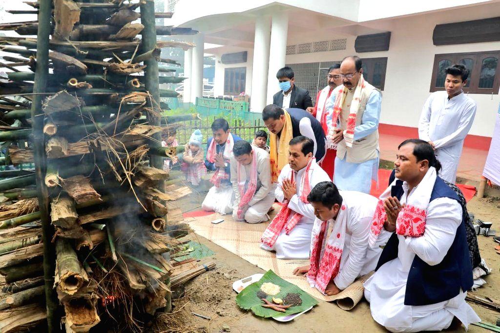 Bihu, Makar Sankranti celebrated in NE states