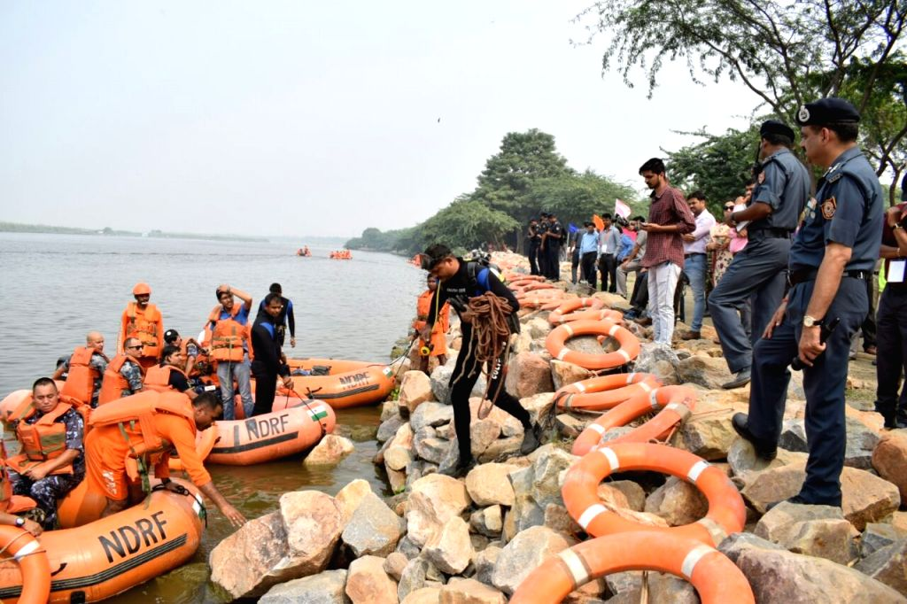 BIMSTEC Disaster Management Exercise underway in Ghaziabad on Oct 12, 2017.