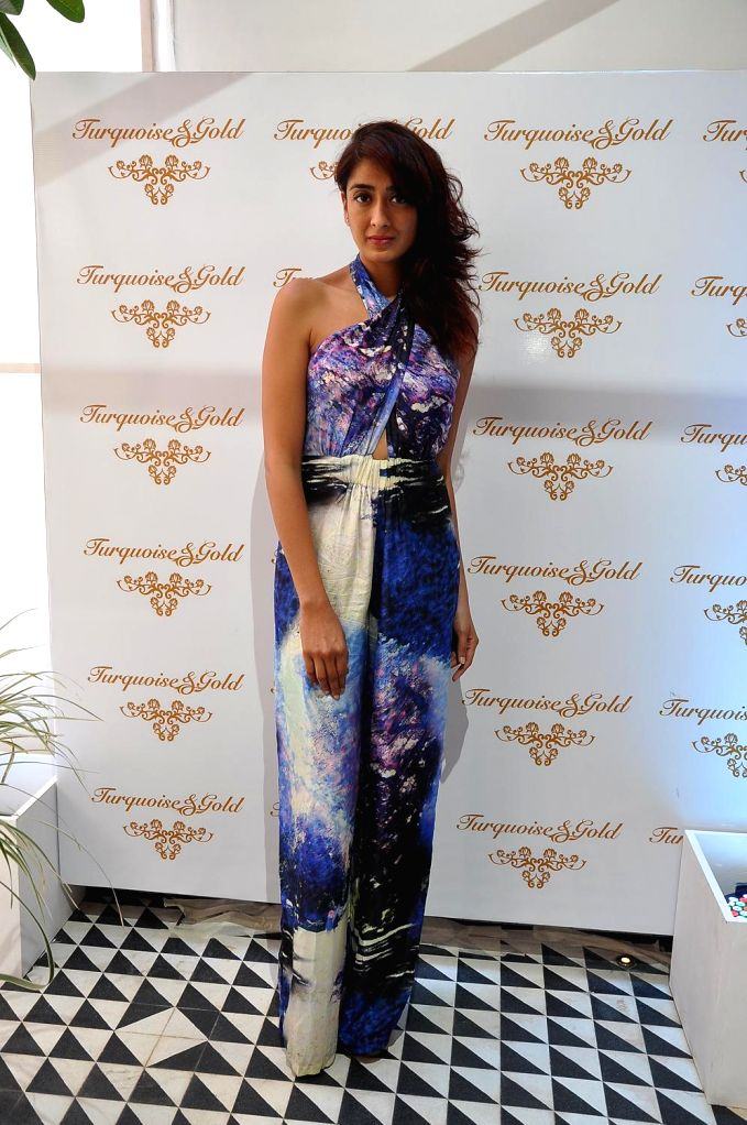 Binal Trivedi during the launch of Turquoise & Gold store in Mumbai on April 16, 2014.