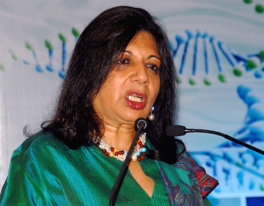 Biocon Chairperson and Managing Director Kiran Mazumdar Shaw. (File Photo: IANS)