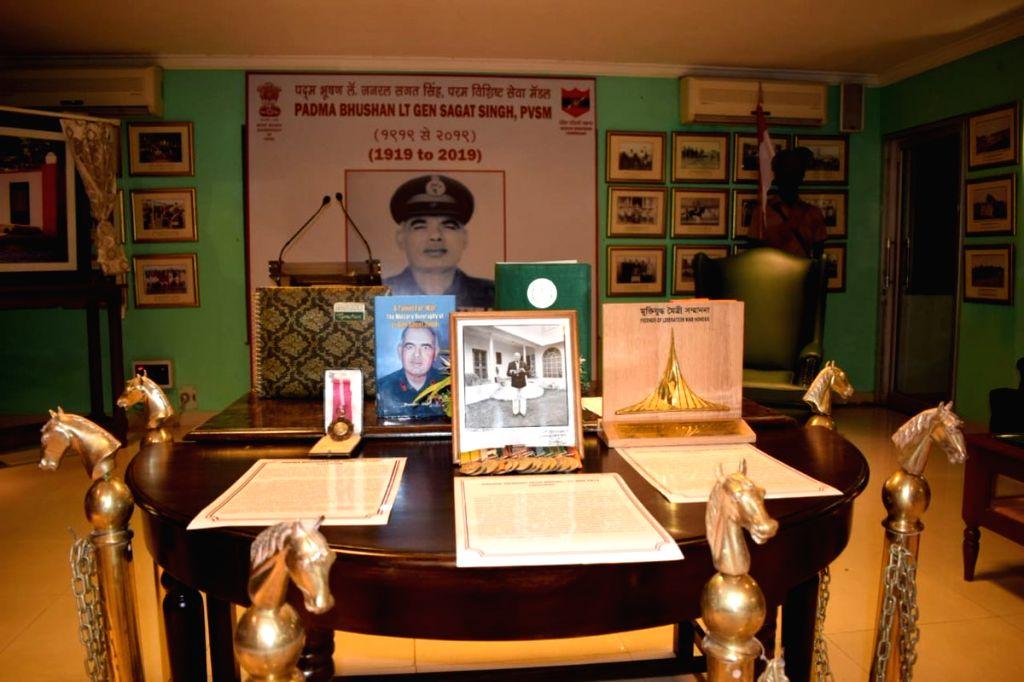 Birth Centenary Celebrations of Lt Gen Sagat Singh got underway with Curtain Raiser at Jaipur Mil Stn. - Sagat Singh
