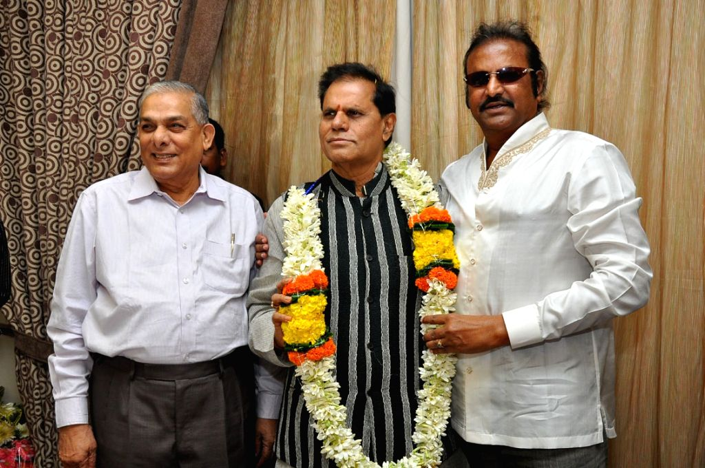 Birthday celabrations of politician and film producer T Subbarami Reddy in Hyderabad on Sept 17, 2016. - T Subbarami Reddy