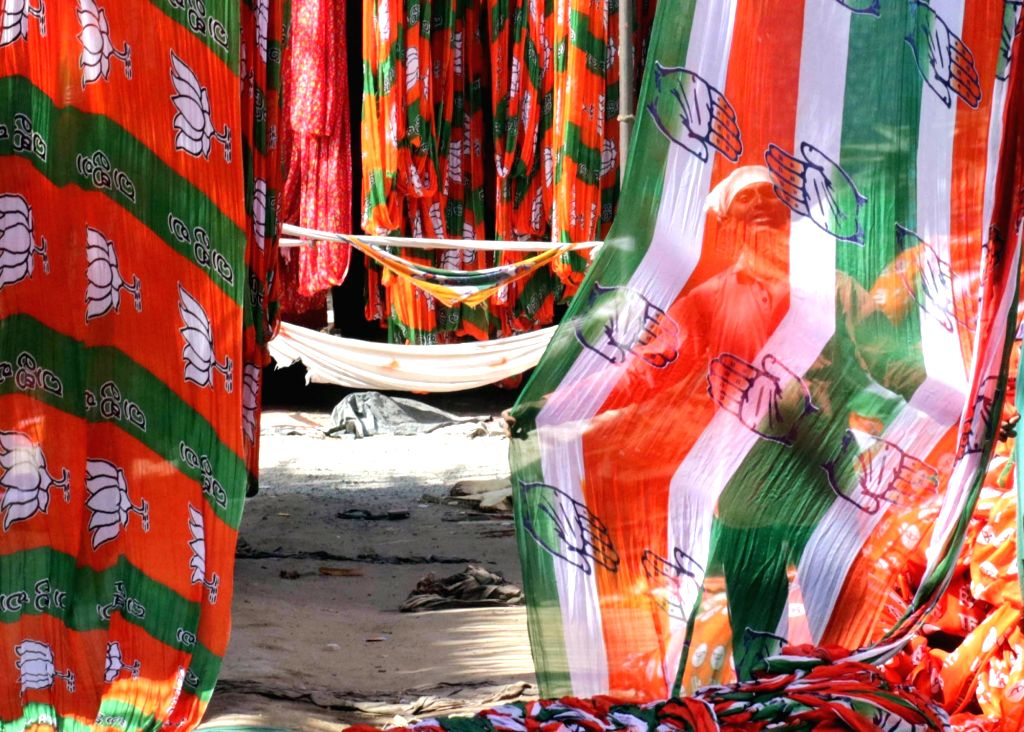 BJP and Congress. (File Photo: IANS)