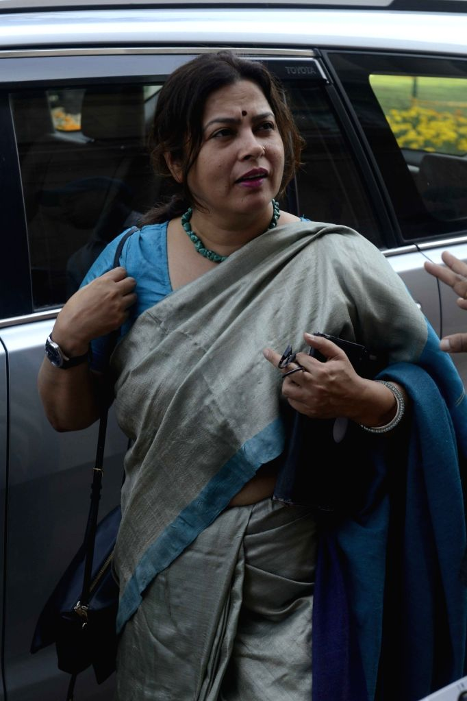 BJP leader Meenakshi Lekhi at the Parliament on Nov 21, 2016.