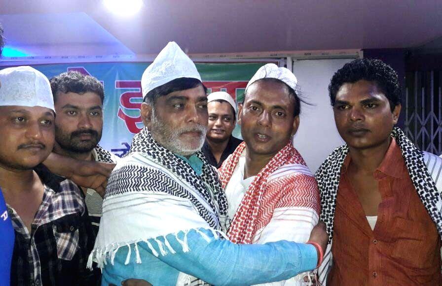 BJP leader Ramkripal Yadav during an iftaar party organised by LJP in Patna on June 28, 2016. - Ramkripal Yadav