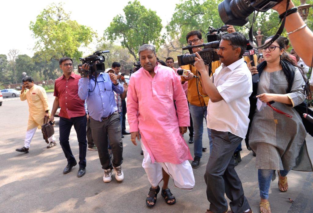 BJP leader Vinay Katiyar. (Photo: IANS)