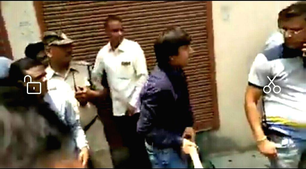 BJP legislator Akash Vijayvargiya thrashed a civic body official in Indore with a cricket bat.