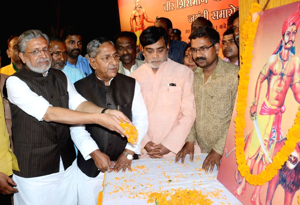 BJP MP Ram Kripal Yadav during a programme in Patna on March 30, 2018. - Kripal Yadav