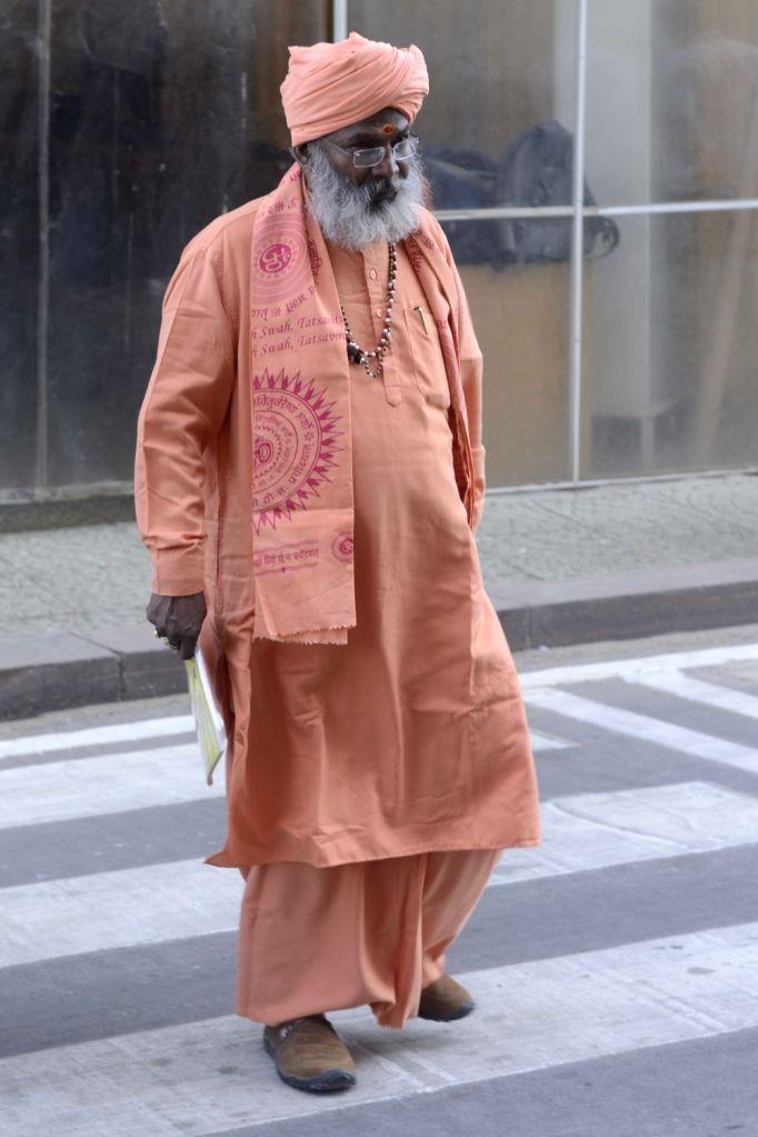 BJP MP Sakshi Maharaj at Parliament in New Delhi on Nov 28, 2016.