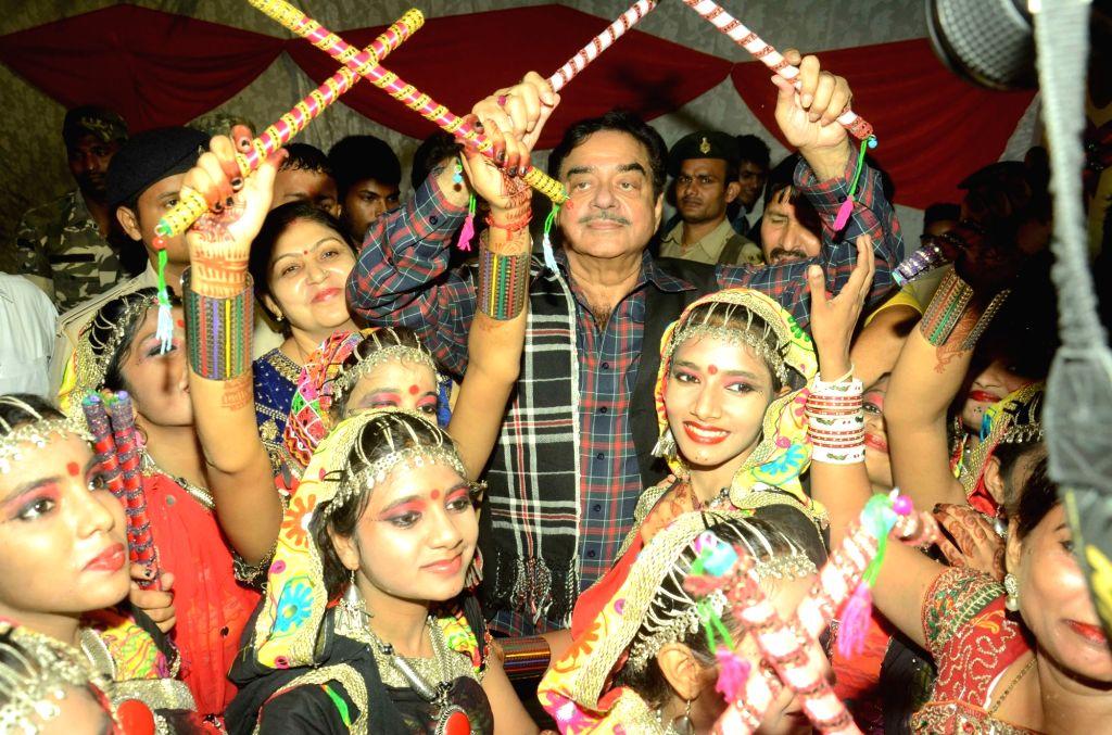 BJP MP Shatrughan Sinha during a programme in Patna on Oct 6, 2016. - Shatrughan Sinha