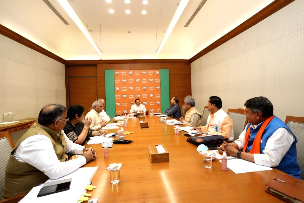 BJP National President JP Nadda held a meeting with the General Secretaries