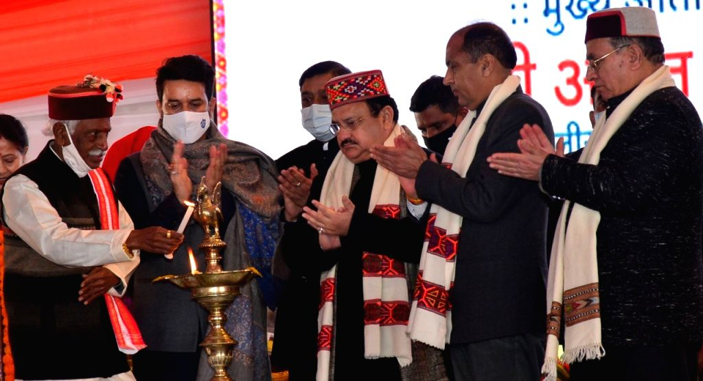 BJP President Jagat Prakash Nadda said on Monday that the young team led by Himachal Pradesh Chief Minister Jai Ram Thakur has taken a big leap in the state's development, which many leaders across ... - Jai Ram Thakur