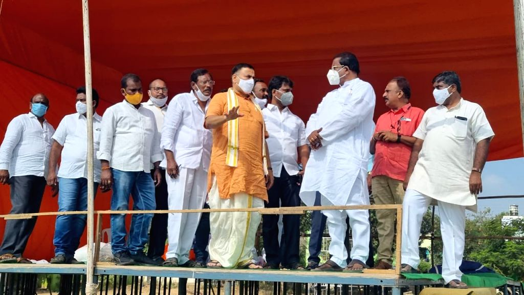 BJP President JP Nadda to electioneer for Tirupati by-poll on Monday.