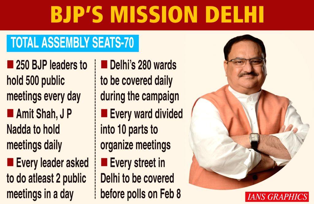 BJP???s Mission Delhi.