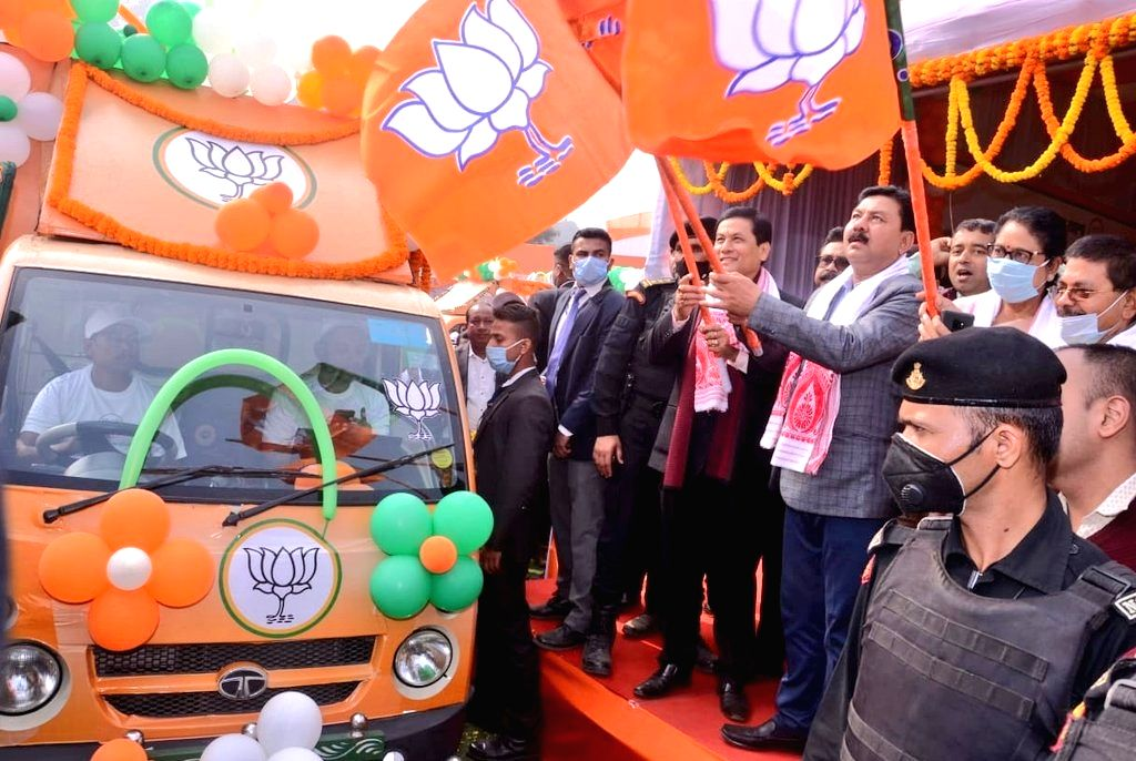 BJP to contest Assam assembly polls jointly with new ally, axing existing partner BPF.