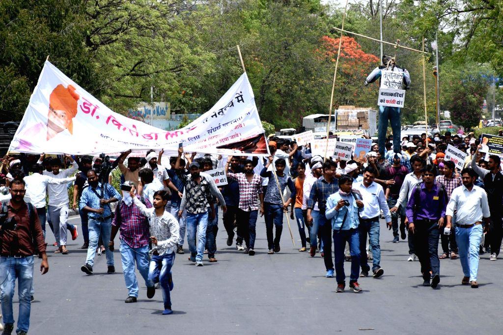 Demonstration against Alwar gangrape