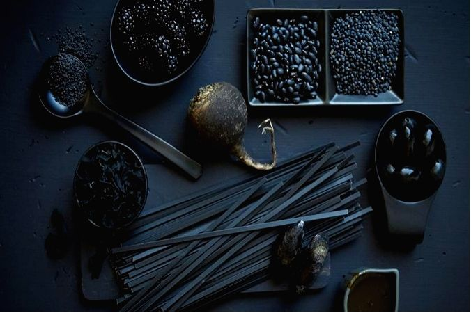 Black foods are the new super-food.