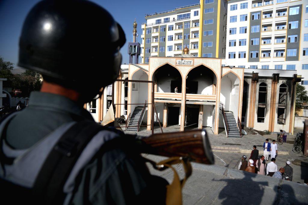 Blast outside Kabul mosque kills number of civilians.