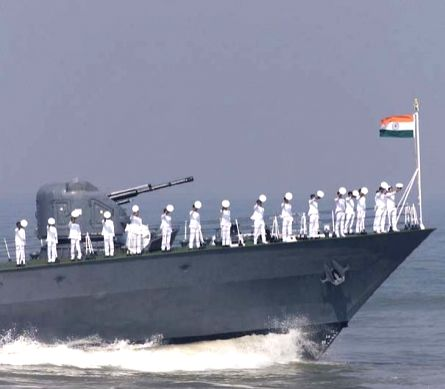 Bluewater capable Navy keeps vigil from Himalayas