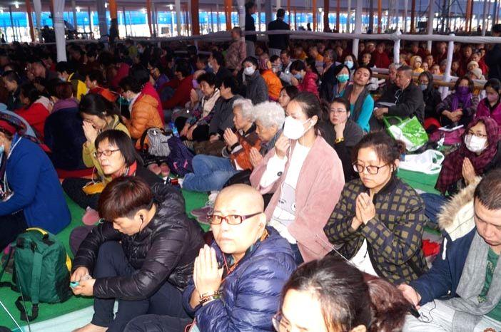 Bodh Gaya: People participate in Kalachakra in Bodh Gaya on Jan 13, 2017.