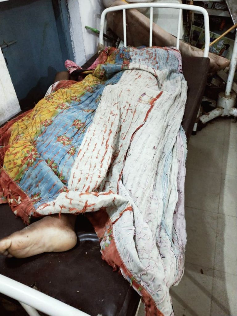 Bodies of children who were killed after being electrocuted in Nawada, Bihar on July 19, 2019. Eight children were killed after being electrocuted.