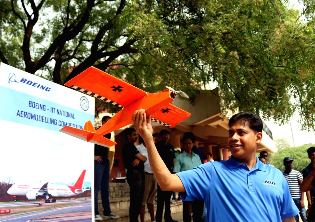 Boeing India President Pratyush Kumar during an aero modelling show organised by BOEING India in association with Indian Institute of Technology (IIT Delhi) in New Delhi on April 22, 2017. - Pratyush Kumar