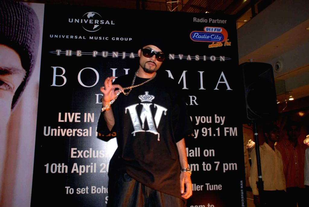 Bohemia performs live at Oberoi Mall.