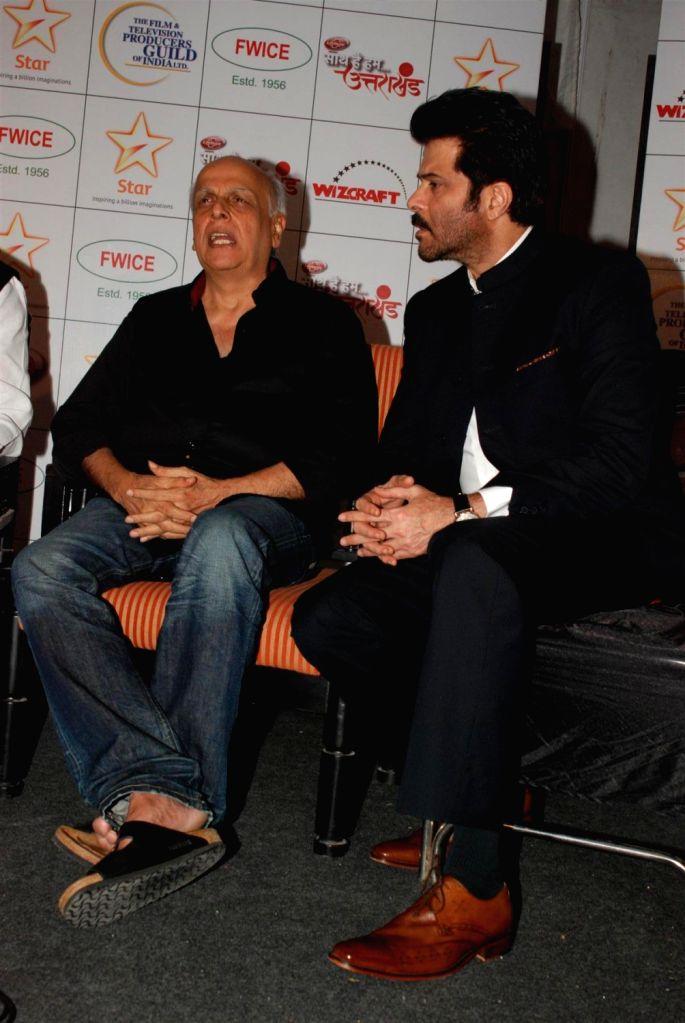 Bollywood actor Aditi Rao Hydari during the Star India`s `Saath Hain Hum Uttarakhand` 7-hour programme in Mumbai on August 15, 2013.  (Photo::: IANS) - Aditi Rao Hydari