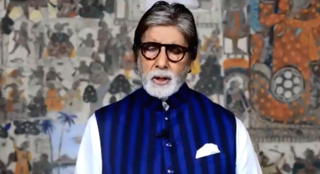 Bollywood actor Amitabh Bachchan tweeted a video where he talks of Chinese experts discovering that that the common housefly, which sits on excreta, can transmit the coronavirus. However, the health ministry disagrees. - Amitabh Bachchan