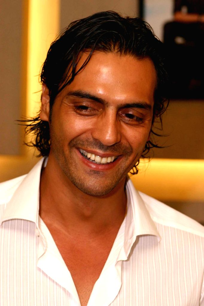 Bollywood actor Arjun Rampal at the launch of VIAVERO at Select City Walk in New Delhi on friday.