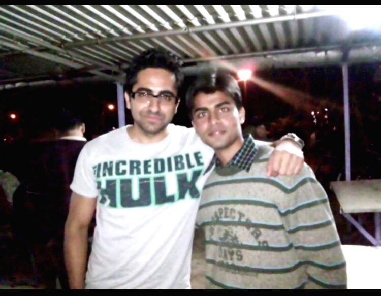"""Bollywood actor Ayushmann Khurrana has opened up about the time he kissed a boy in the past. """"I have kissed a boy in the past. During MTV Roadies, we were playing truth and dare. I got the dare ... - Ayushmann Khurrana and Jitendra Kumar"""