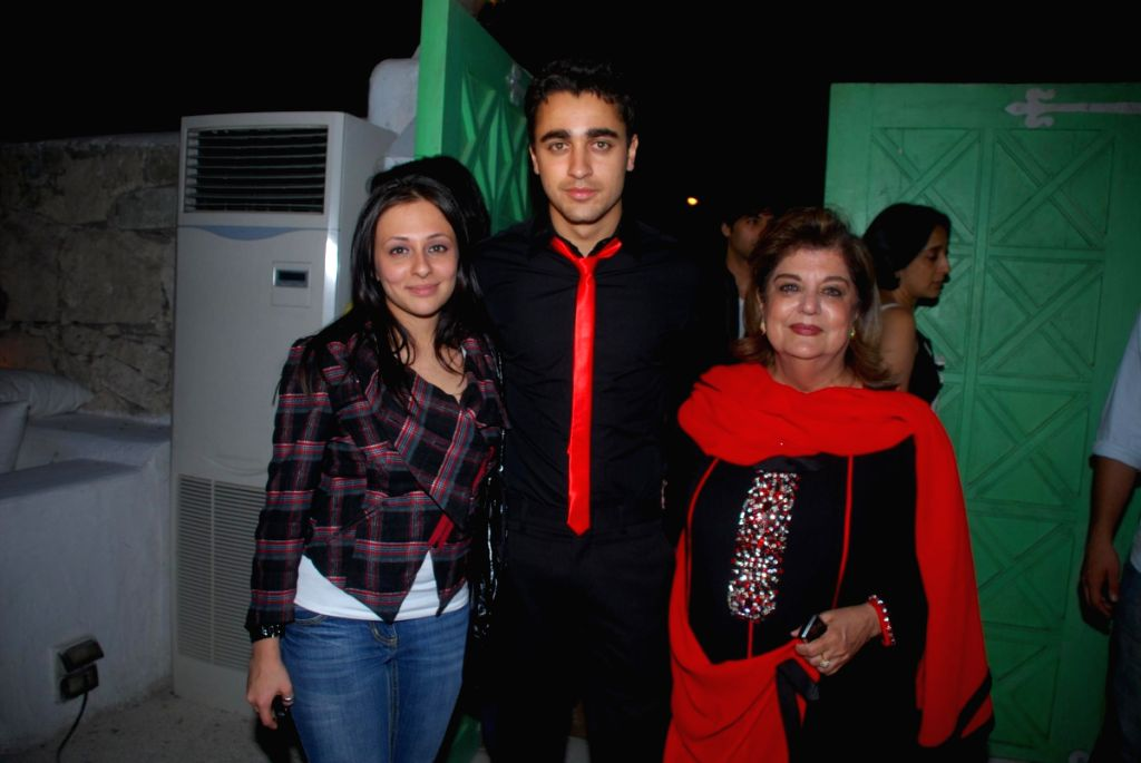 "Bollywood actor Imran Khan and Avantika Malik at the screening of english play ""Vagina Monologues"" . - Imran Khan and Malik"