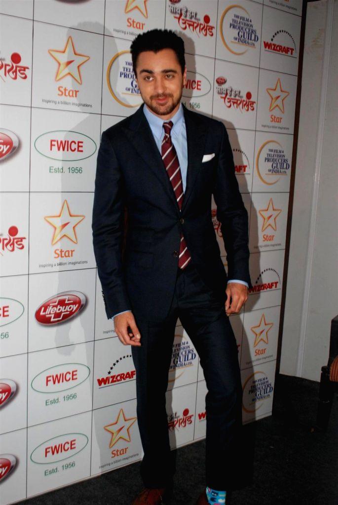 Bollywood actor Imran Khan during the Star India`s `Saath Hain Hum Uttarakhand` 7-hour programme in Mumbai on August 15, 2013. (Photo::: IANS) - Imran Khan