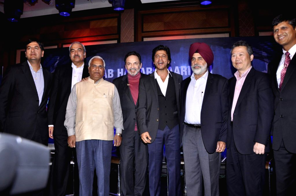 Bollywood actor Shah Rukh Khan at NDTV Toyota has launched University Cricket Championship. Eight teams from four zones will play in a T20 format for the title of being the best university in ...