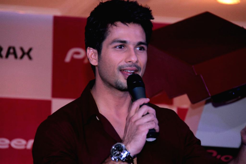 Bollywood actor Shahid Kapoor.(File Photo: IANS) - Shahid Kapoor