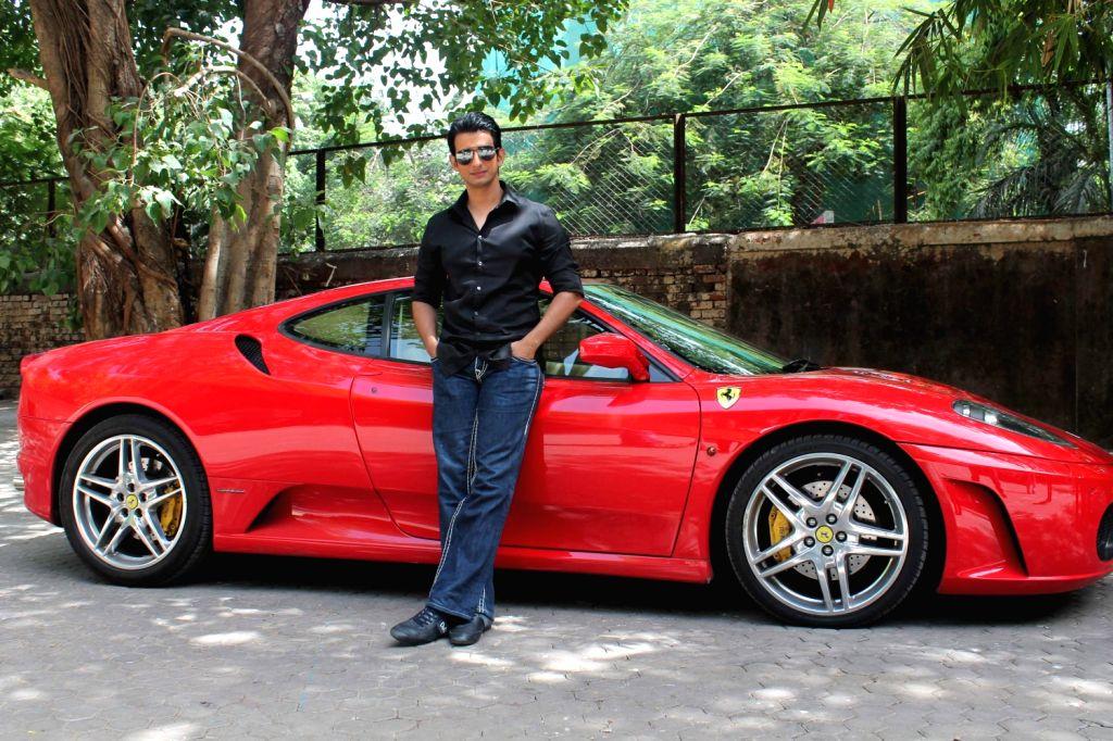 Bollywood actor Sharman Joshi promoting his upcoming film `Ferrari Ki Sawaari` at Mehboob Studios in Mumbai.