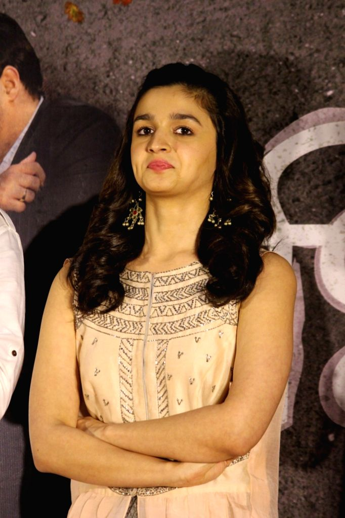 Bollywood actress Alia Bhatt during the song launch Deva Deva from the upcoming Marathi film Bhikari in Mumbai, on June 26, 2017. - Alia Bhatt