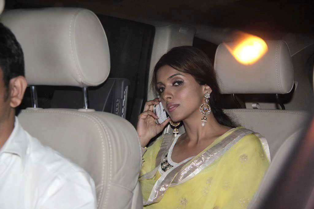 Bollywood actress Asin Thottumkal at Bachchan family`s Diwali Party at Jalsa Bungalow in Juhu, Mumbai. (Photo: IANS) - Asin Thottumkal