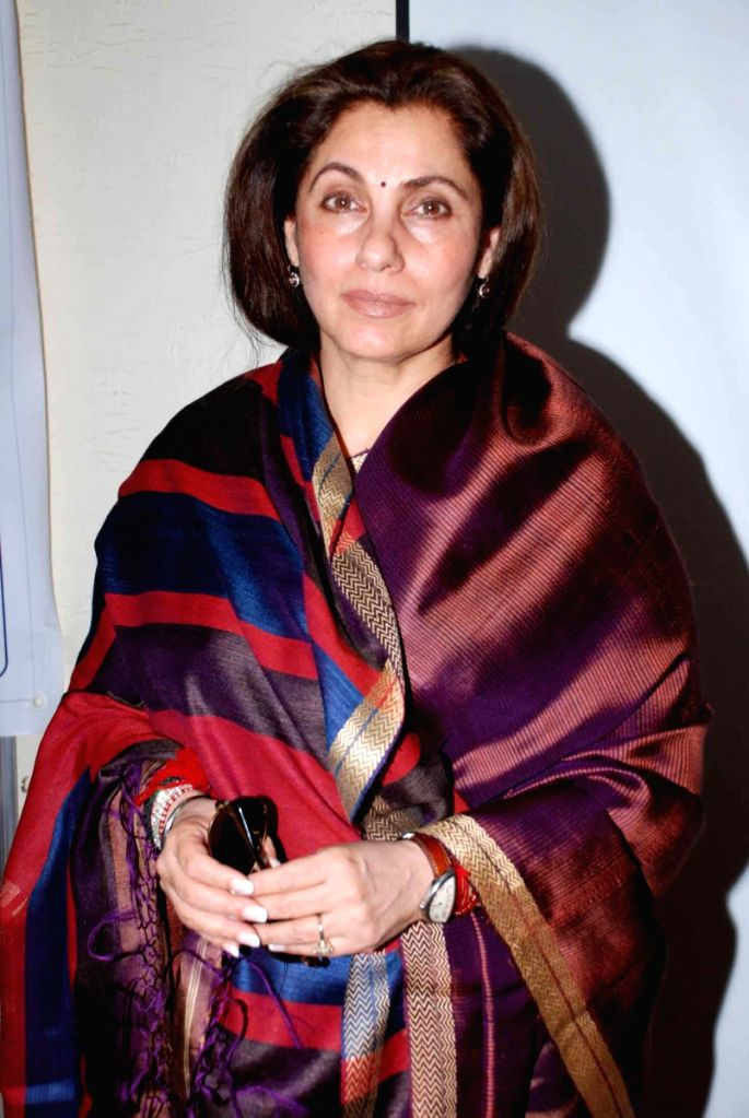 Bollywood actress Dimple Kapadia launches Parkinson Group Forum website in Mumbai.