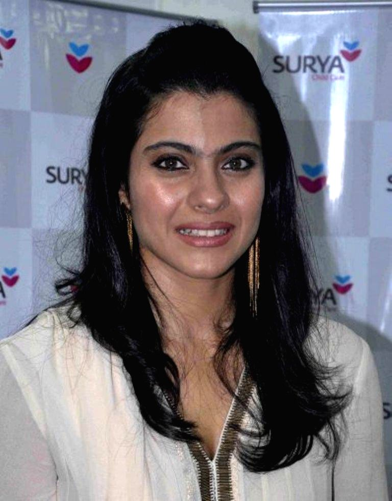 Bollywood actress Kajol Devgan arrives for the inauguration of Surya child care hospital`s 65 bedded expanded Neonatal Intensive Care Unit (NICU) in Mumbai on August 15, 2013. (Photo::: IANS) - Kajol Devgan