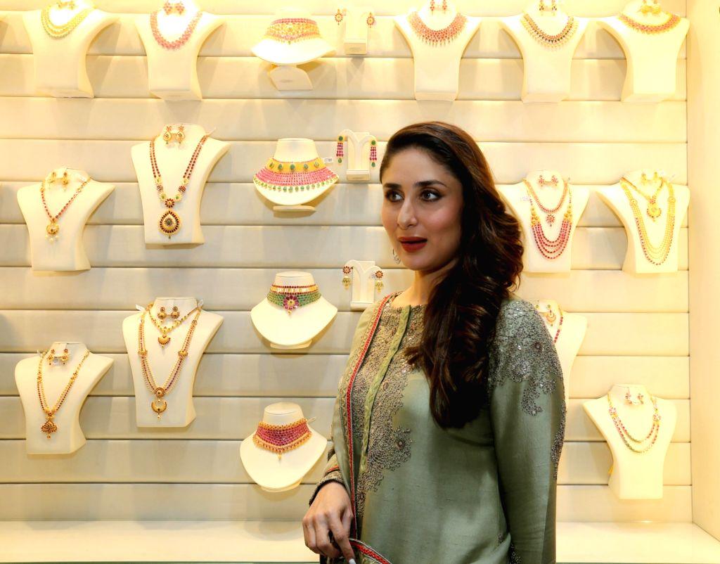 Bollywood actress Kareena Kapoor Khan during a store launch, in New Delhi, on August 19, 2017. - Kareena Kapoor Khan